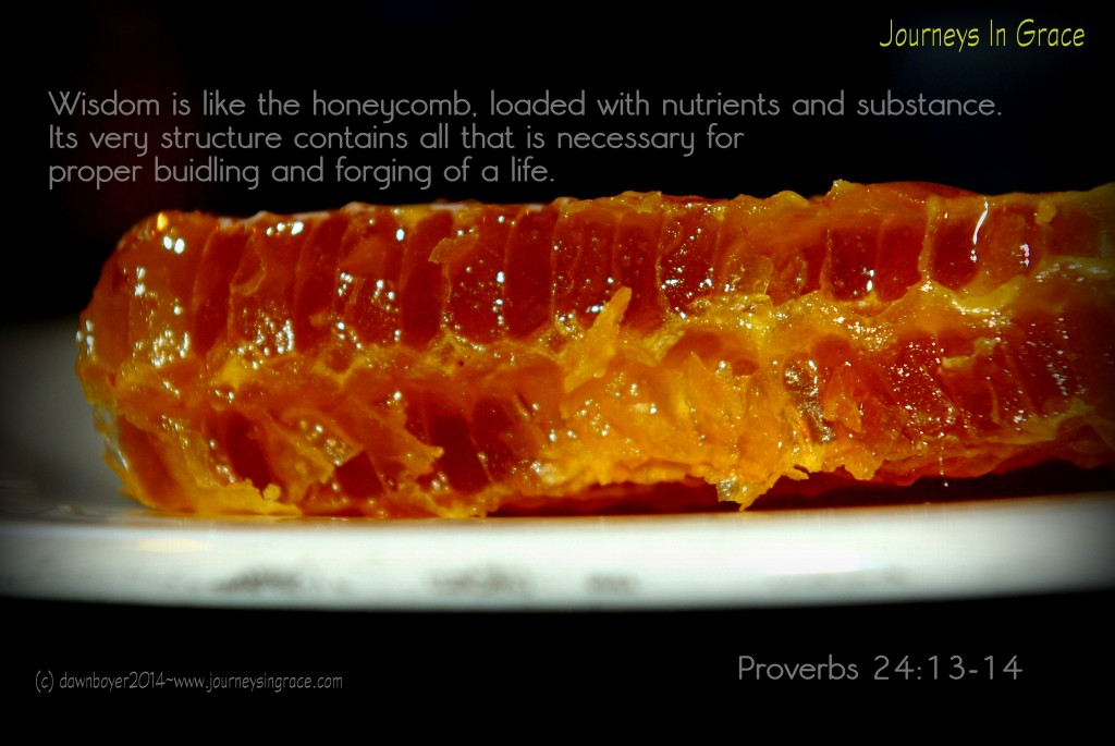 Wisdom is like honeycomb