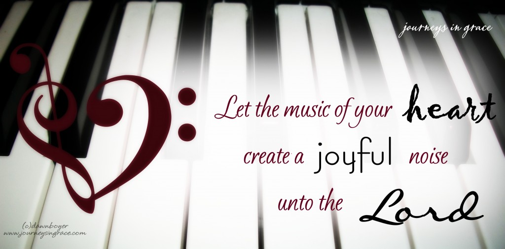 Make a joyful noise psalm 100a