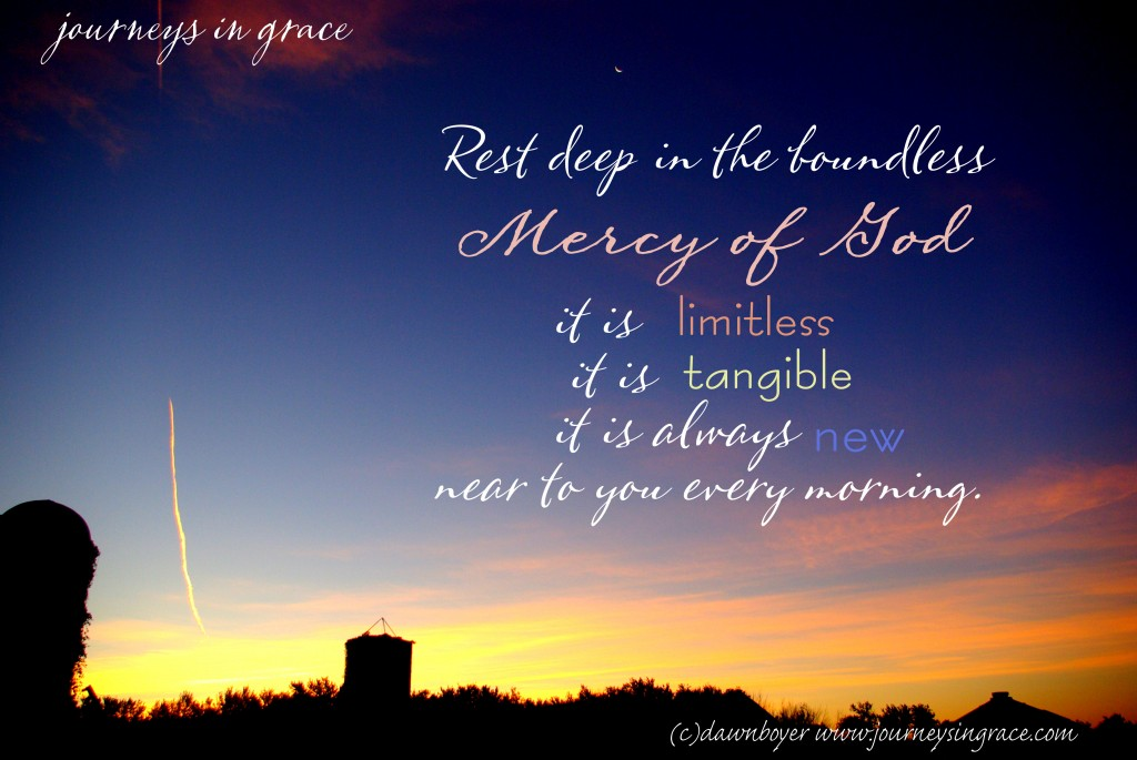 Mercy in the Morning