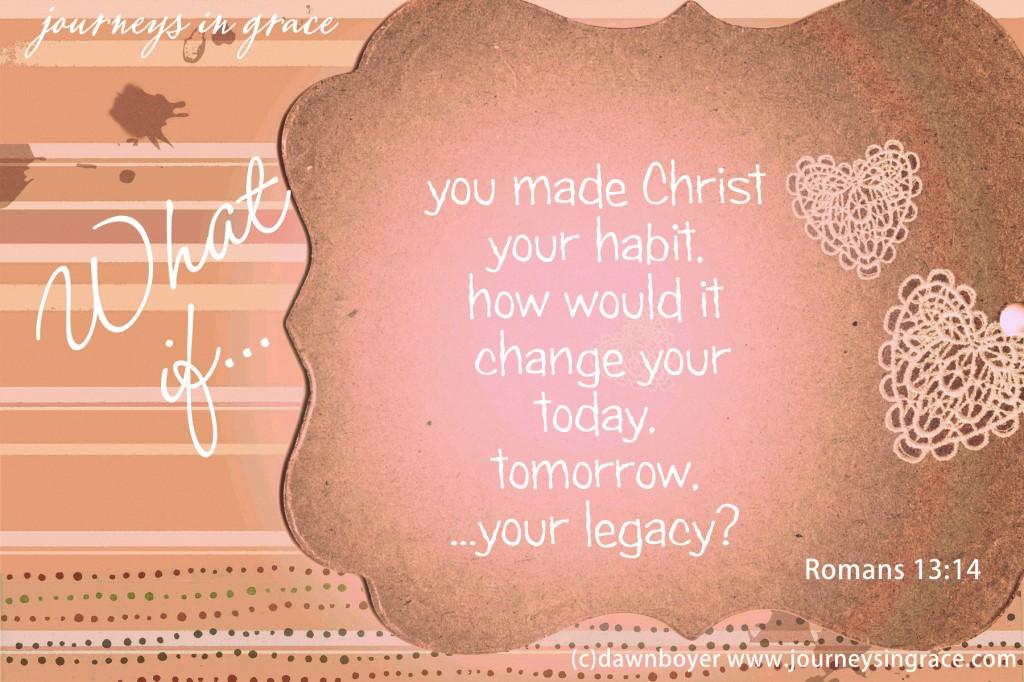 habit of Christ