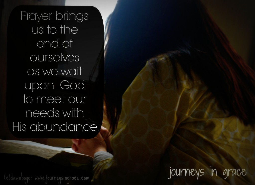 Purpose to find His Will in Prayer