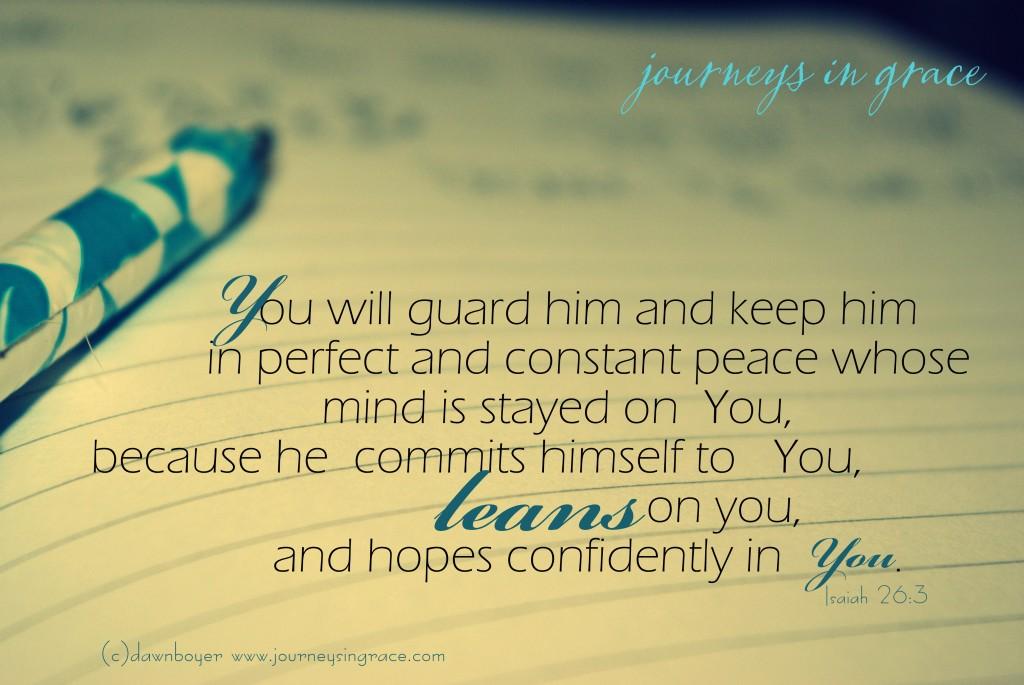 isaiah 26 3