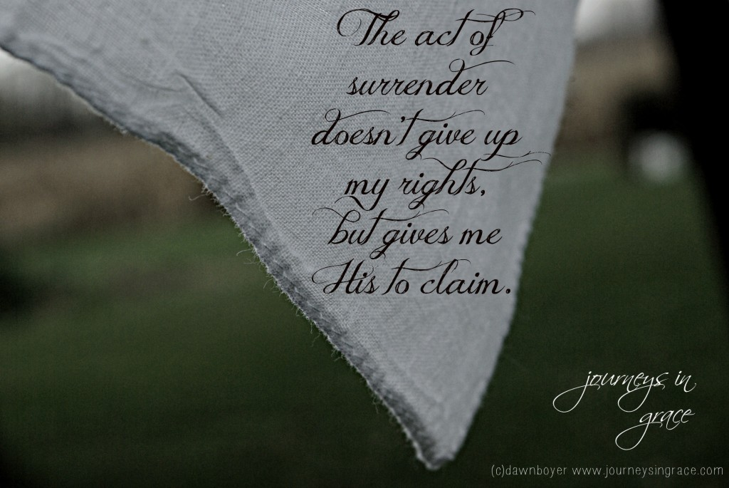 The Act of Surrender