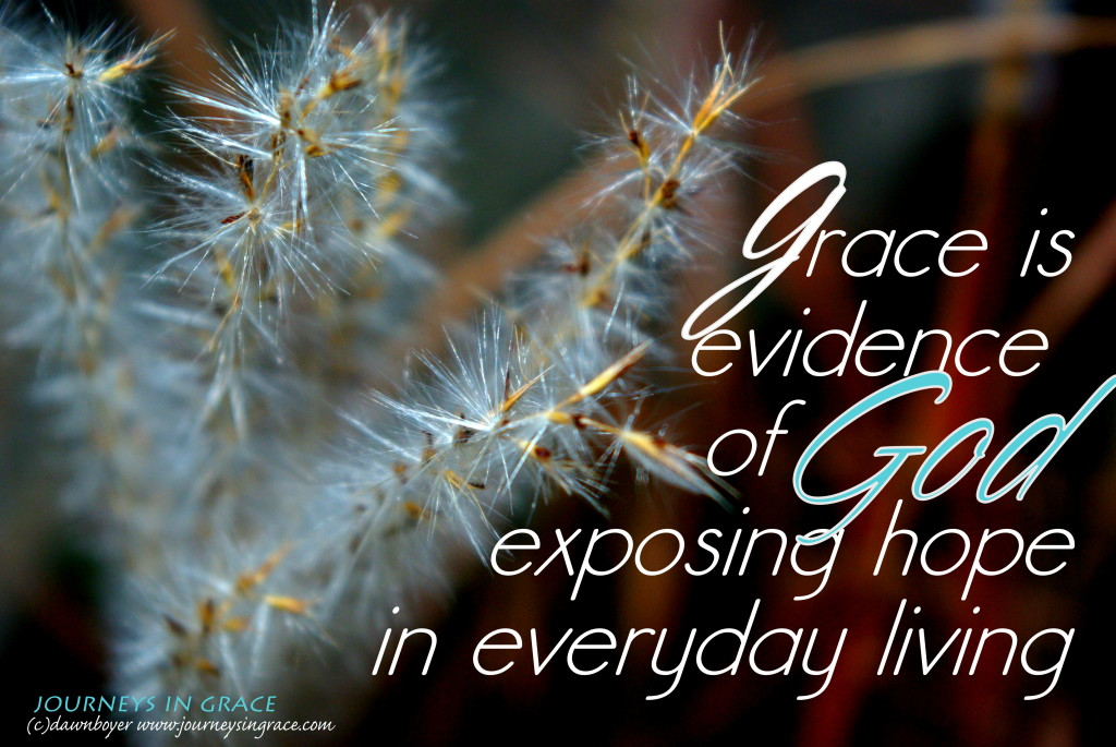 grace exposes hope
