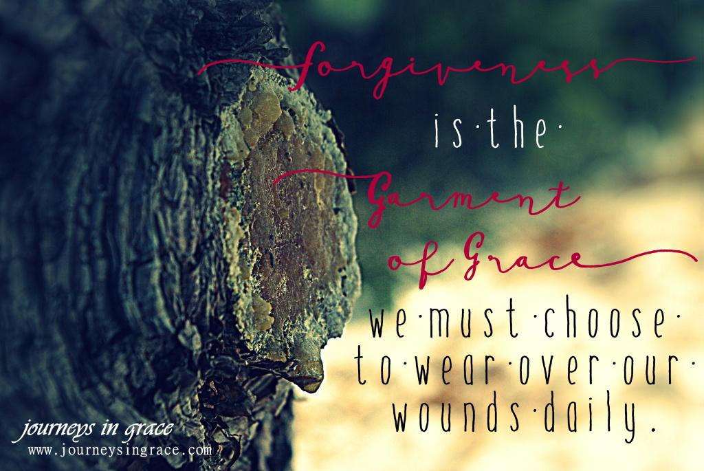 garment of forgiveness