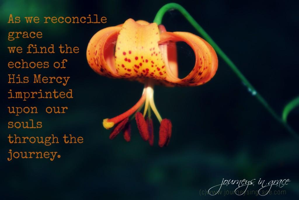 reconciled grace