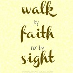 walk by faith image