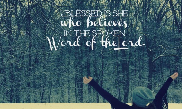 Blessed is She Who Believes- Soul Stops