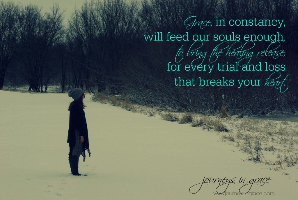 grace is the constancy