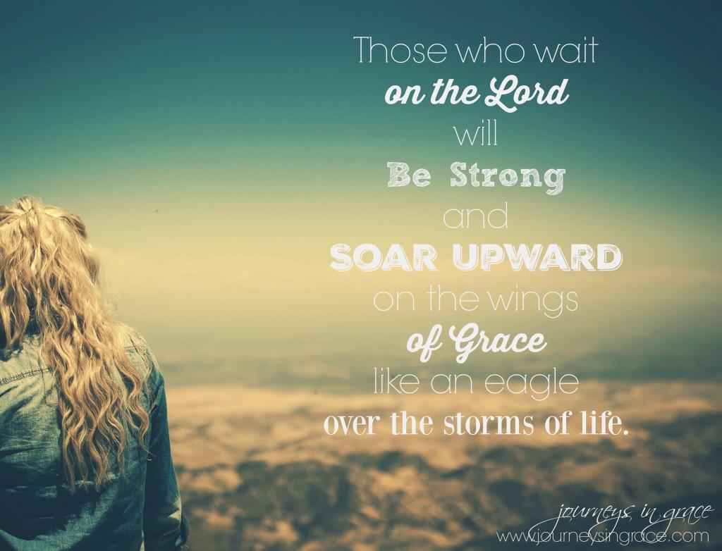 soar on wings of grace