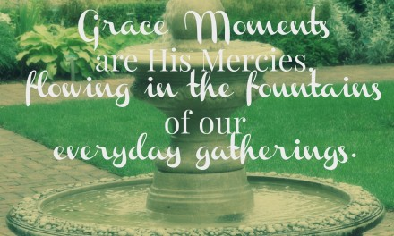 When Grace Spills like a Fountain – #GraceMoments Link Up