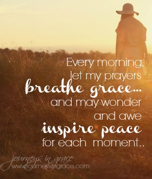 Breathing peace into our days… #GraceMoments Link Up
