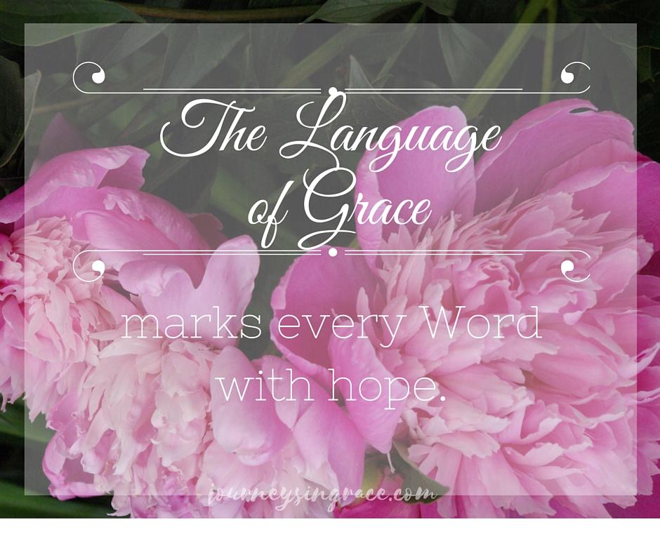 language of grace