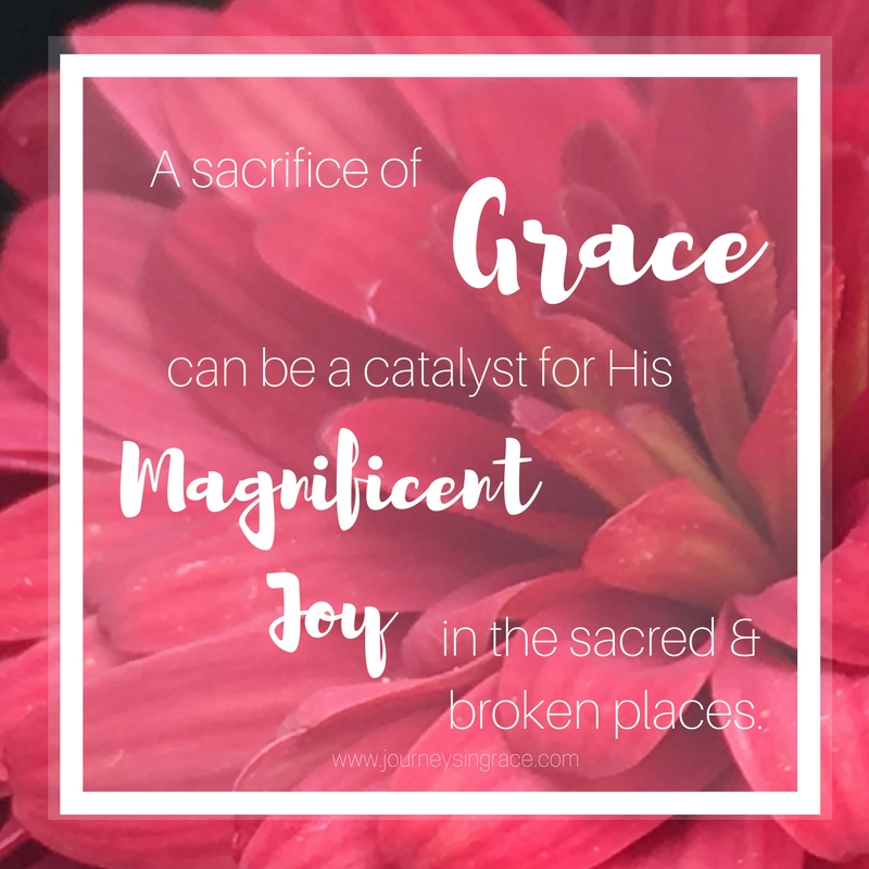 Sacrifice of Grace, grace, #Gracemoments