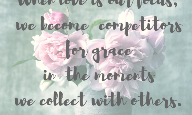 Love is… #GraceMoments Link Up