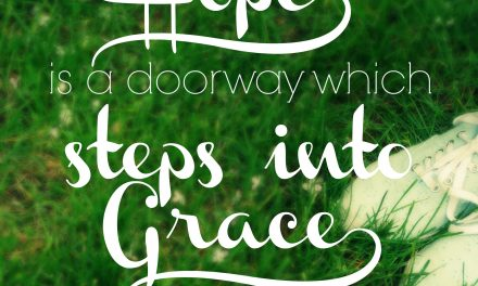 When hope steps into grace…. #GraceMoments Link Up
