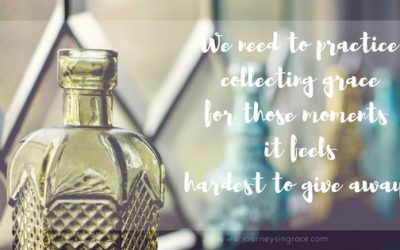 When collecting grace is a practice we keep remembering…#GraceMoments Link Up