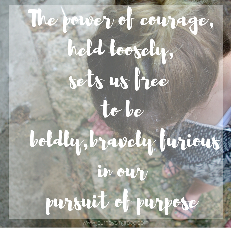 courage in boldness, #gracemoments