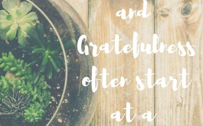 When grace reminds you to be grateful…#GraceMoments Link Up