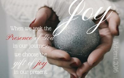Choosing the gift of Joy, Advent 2016…#GraceMoments Link Up