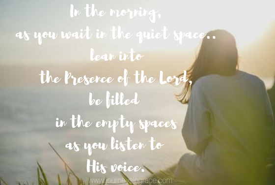 When the waiting teaches us to listen…#GraceMoments Link Up