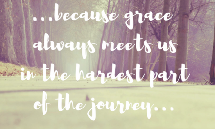When we walk a calvary road…#GraceMoments Link Up