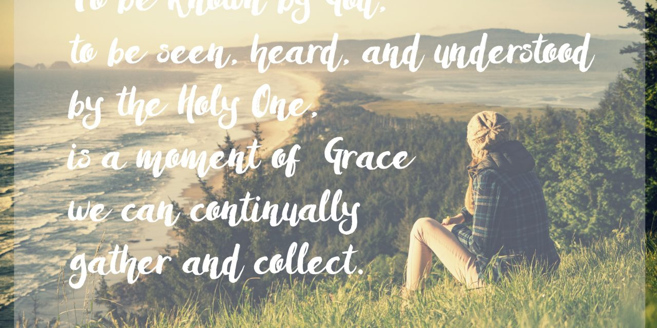 When grace reminds us we are known…#GraceMoments Link Up