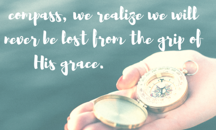 When we follow the compass of grace…#GraceMoments Link Up
