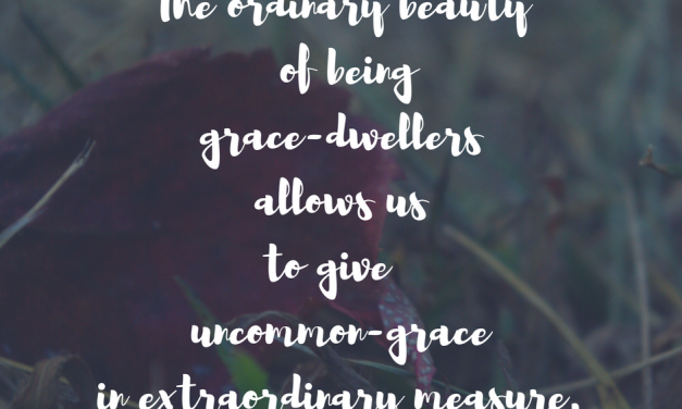 When grace stops being a cliche…#GraceMoments Link Up