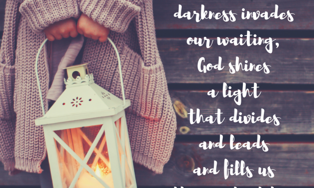 When His light leads us to wait expectantly…#GraceMoments Link Up