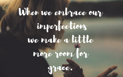 When our imperfections lead us into His perfect grace…#GraceMoments Link Up