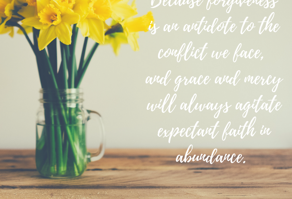 The power of an expecting kind of faith…#GraceMoments Link Up