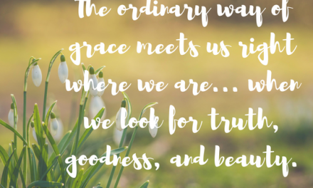 When we look the way of grace…#GraceMoments Link up