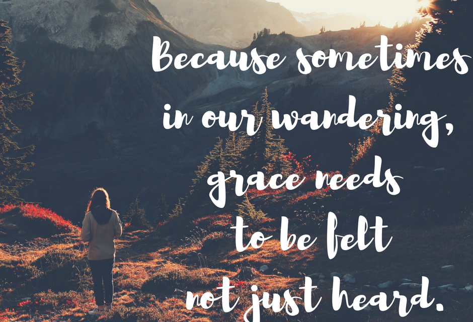 When we wander into grace…#GraceMoments Link Up